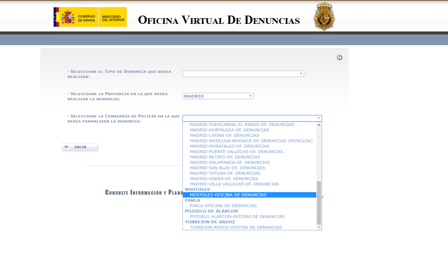 oficina virtual de denuncias 1